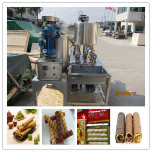 Full Automatic Egg Roll Wafer Stick Making Machine pictures & photos