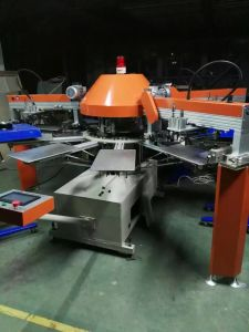 Spg Custom Automatic T Shirt Silk Screen Printing Machine Price for Sale pictures & photos