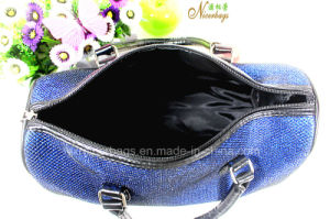Hot Sell Popular Wholesale Glitter Fabric Hand Bag pictures & photos