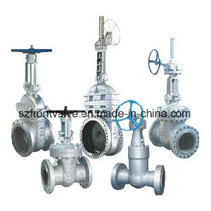 Cast Steel Flanged End Gate Valve pictures & photos