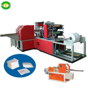 Full Automatic High Speed Box Drawing Napkin Paper Machine Supplier pictures & photos