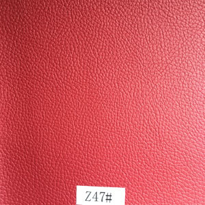 Synthetic Leather (Z47#) for Furniture/ Handbag/ Decoration/ Car Seat etc pictures & photos
