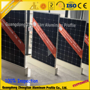China Manufacturer Anodizing Aluminium Extrusion Solar Frame Profiles pictures & photos