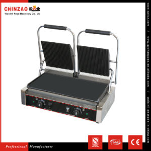 Double Plate Flat Surface Sandwich Contact Grills Chz-810-2A pictures & photos