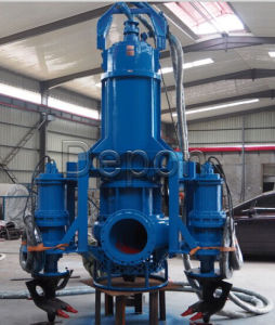 Mixing Flow Submersible Sand Pump with Cutter pictures & photos