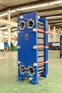 High Thermal Efficiency 190kg/S Plate Heat Exchanger Sh200, Steam Heater (ALFA LAVAL TS20M) pictures & photos