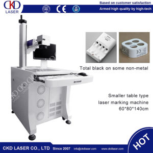 PP PE Electronic Appliance Optical Fiber Marking Machine with Ce pictures & photos