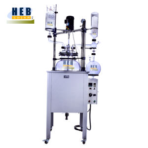 F50h2a Multi-Function Reactor/Single Layer Glass Reactor with Max Heating Temperature 180degree pictures & photos