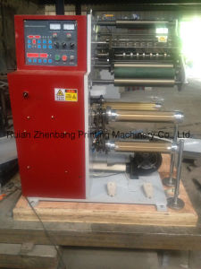 Slitting Machine with Turret Rewinder pictures & photos