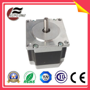 1.8 Deg NEMA23 2 Phase Hybrid Stepper Motor for Photo Printer pictures & photos