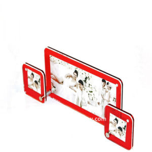 Custom Colorful Acrylic Picture Frame (BTR-U1018) pictures & photos