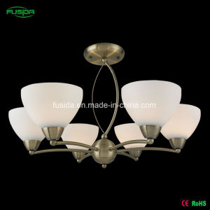 High Quality New Antique Glass Pendant Lamp/Chandelier (X-8102/6) pictures & photos