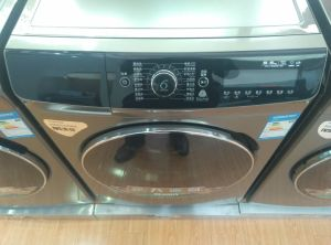 8kg Front Loading Washing Machine with Big LED Screen pictures & photos
