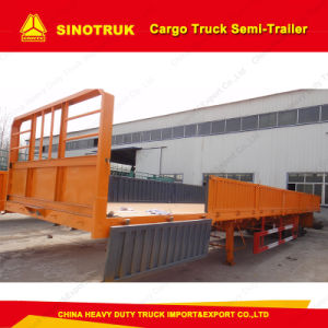 Truck Trailer 20FT/40FT Tri-Axle Cargo Truck Semi Trailer pictures & photos