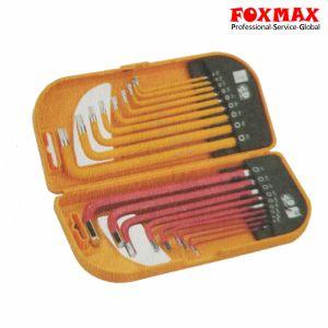 18PCS Long Arm Combo Hex Key Set HK-049 pictures & photos