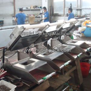 HS-300 Manual Operate Plastic Tray Sealing Machine pictures & photos