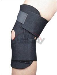 Hot Sale Neoprene Knee Support with Hole (NS0021) pictures & photos