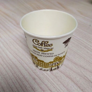 4oz PE Coated Paper Coffee Cup Stock for Hot Drink pictures & photos