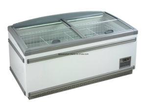 Supermarket Deep Freezer Cabinets /Combined Island Freezer for Hypermarket pictures & photos