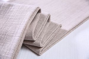 Modern Linen Looks Twill Fabric for Sofa and Chair pictures & photos