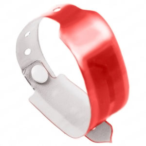 Eco-Friendly RFID PVC Identifiable Bracelets for Event Ticketing pictures & photos