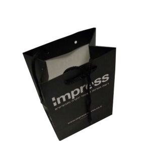 Paper Bags with Handles Wholesale pictures & photos