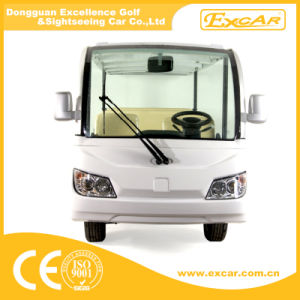 New Model Cheap 14 Seaters Electric Sightseeing Bus China pictures & photos