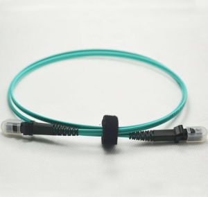 MTRJ Om3 10g Optical Fiber Jumper pictures & photos