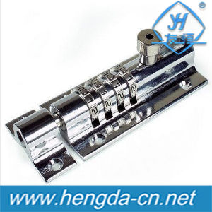 Yh9150 Security Plug 4-Dial Combination Sliding Bolt Lock pictures & photos