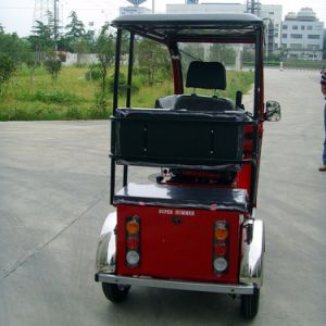 110cc Handicapped Tricycle for One Back Passenger pictures & photos