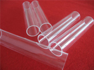 Hot Selling Purity UV Stop Quartz Glass Tube pictures & photos