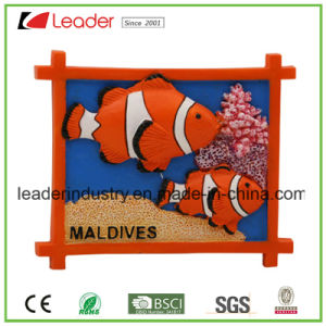 Fridge Custom Resin 3D Refrigerator Magnet for Promotion Gifts pictures & photos