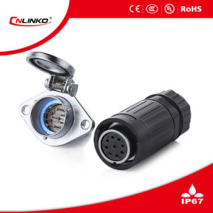 9 Pin Ya-20 Waterproof Power Connector pictures & photos