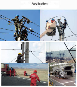 All Dielectric Self-Supporting Aerial Cable ADSS with 100m 200m Span pictures & photos