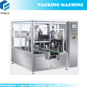 Easy Operation Filling Packaging Machine with Auto Weighing (FA8-200-S) pictures & photos