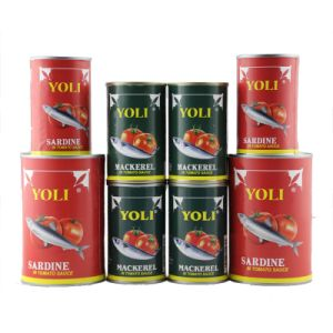 Hot Sell Good Quality Canned Tomato Paste Canned Food Canned Fish pictures & photos