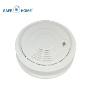 9V Battery Operated Conventional Smoke Alarm for Home Security System pictures & photos
