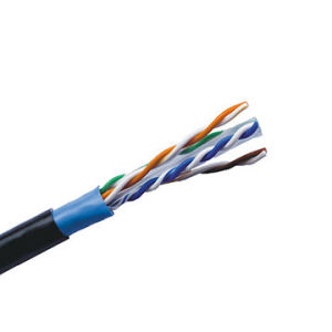 Ce Certificate Cat 5e Network Cable for Security System pictures & photos