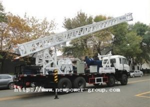 Truck Mounted Water Well Drilling Rig (BZC600CLCA)