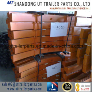 Suspension/Bogie Leaf Spring/Semi Trailer Leaf Spring pictures & photos