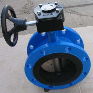 Cast Iron Flange Butterfly Valve pictures & photos