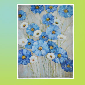 Flower Picture Painting (LH-053000) pictures & photos