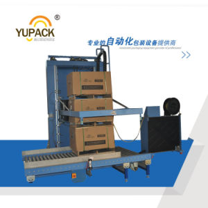 Yupack New Condition Automatic Horizontal Strapping Machine for Pallet pictures & photos