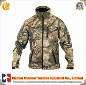 Mens Camouflage Military Winter Long Sleeves Jacket