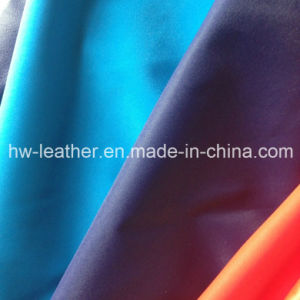 High Stretch PU Leather for Clothes (HW-1751) pictures & photos