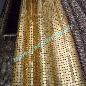 Aluminium Sequin Fabric Metal Mesh Screen (YX30517A)