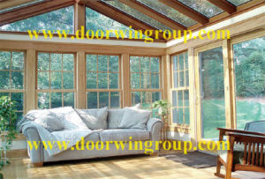 Solid Wood Aluminum Frame Window pictures & photos