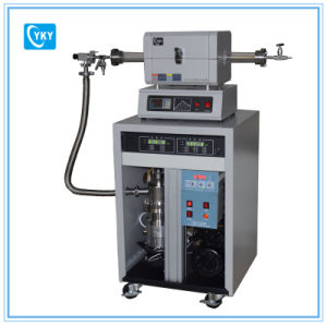 1200c Mini Horizontal Tube Furnace with 50mm Quartz Tube / Split Tube Furnace pictures & photos