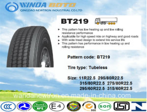 TBR Tire, Truck&Bus Tire, Radial Tire Bt219 295/80r22.5 pictures & photos