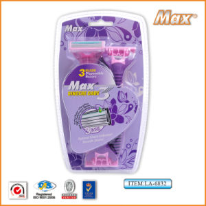 Good Quality Popular in Saudi Arabia Hitachi Stainless Steel Blade Disposable Razor (LA-6832) pictures & photos